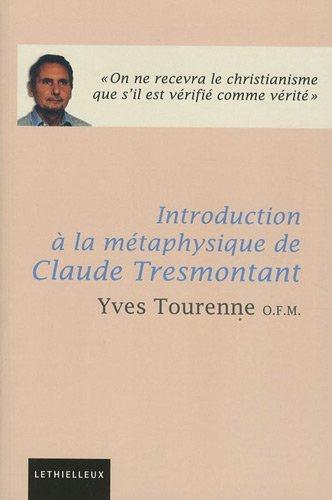 Introduction à la métaphysique de Claude Tresmontant