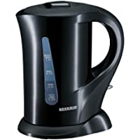 Severin WK 3363 - Hervidor de agua (1 litro, 1000 W), color negro