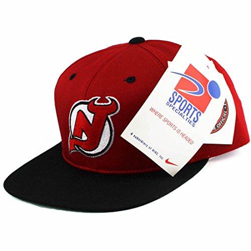 Vintage Sports Specialties New Jersey Devils Snapback Hat Cap Kappe Mütze (Baseball-vintage-jersey)