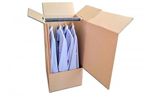 Pack de Dos 2 Cajas Armario de Cartón