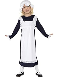 Victorian Fancy Dress Childrens Fancy Dress Victorian Poor Girl Costume Large Age 10-12