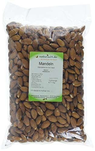 Naturix24 Mandelkerne, mandeln ohne Schale ganz, 1er Pack (1 x 1 kg)