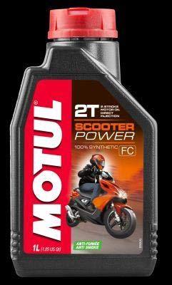 Scooter Power 2T Motorenöl 1 Liter - Motorrad Schmierstoffe Motoröl 2-Takt