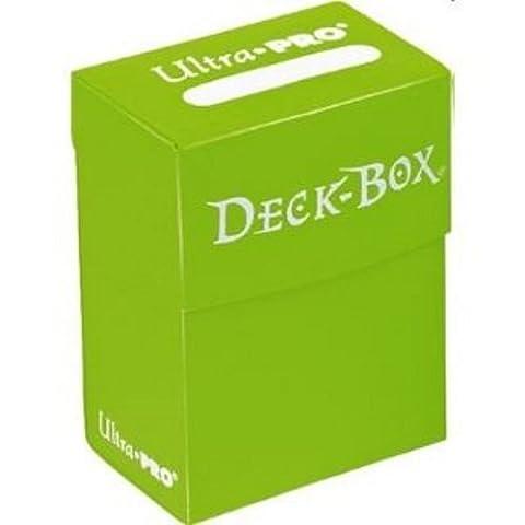 Asmodee - 82480 - Accessoire de jeu de cartes à jouer et à collectionner - Boîte de Rangement pour 75 Cartes Protégées - Vert Clair