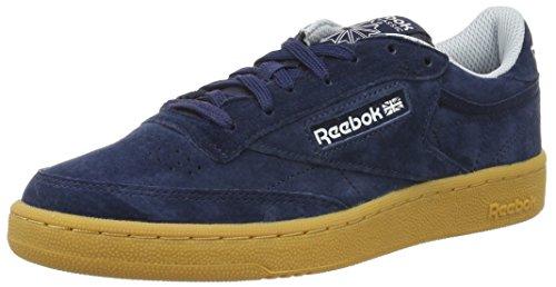 reebok-club-c-85-indoor-zapatillas-para-hombre-azul-collegiate-navy-cloud-grey-scarlet-white-43-eu