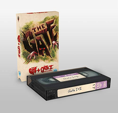 The Gate 1+2 - Limited Edition - VHS-Retro-Edition (Cover A) [Blu-ray]