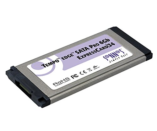 Sonnet TSATA6-PRO1-E34 Tempo Edge SATA 6GB Pro ExpressCard/34 (1 Port)