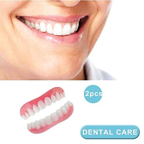 DYSEL Kosmetisches Zahnfurnier Sofortiges Lächeln Zahnersatz Provisorischer Veneers Extra Dünn Einfache Abnutzung für Mann und Frau