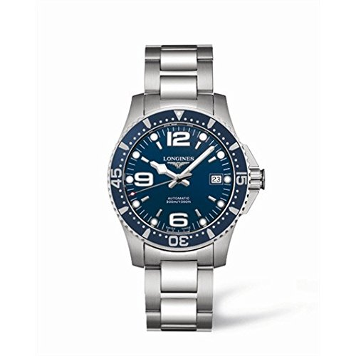 longines-hydroconquest-mens-automatic-watch-with-blue-dial-analogue-display-and-silver-stainless-ste