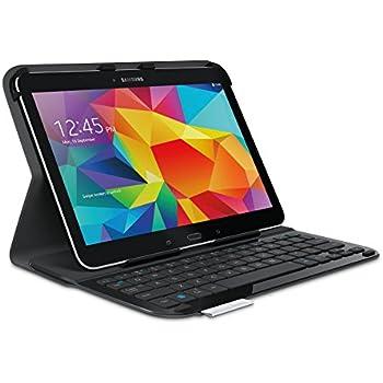 Logitech Ultrathin Keyboard Folio clavier QWERTY Anglais pour Samsung Galaxy Tab 4