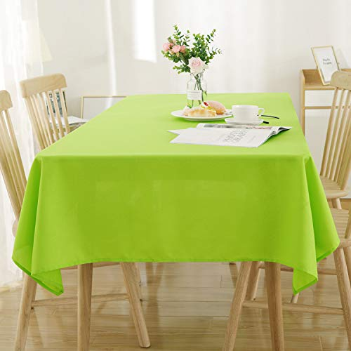 Tischdecke Wasserabweisend Tischwäsche Lotuseffekt 130x220 cm Grün ()