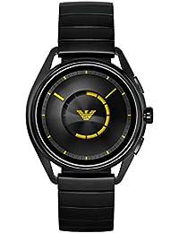 Emporio Armani Herren-Smartwatch mit Edelstahl Armband ART5007