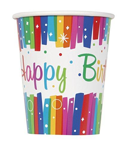 Assiettes – Happy birthday – Arc en ciel 41iTEtvOfFL