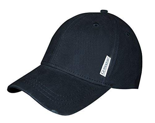 Guinness Baseball-Kappe mit klassischem Black-Rear-Logo Guinness Baseball