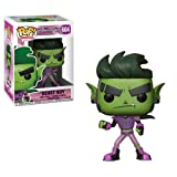 Funko- Pop Vinile: Teen Titans Go: TNBTS: Beast Boy The Night Begins To Shine, Multicolore, 9 cm, 28676