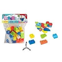 مكعبات للاطفال من هودا واي، 34 قطعة، موديل 34-6617-5