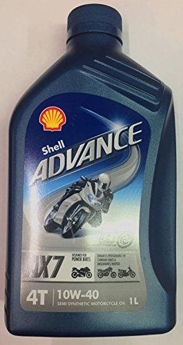SHELL Advance 4T AX7 10W-40 - Lubricant, 1 l