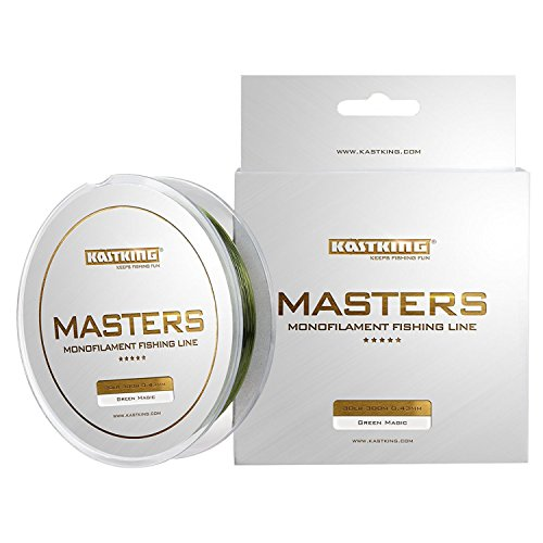 KastKing Masters Tournament Grade Master Fishing Line - Pro Series Mono Line Premium Fishing Line - Super Smooth Casting, Abrasion Resistant, and Superior Strength -Award Winning Manufacturer. - Pro Casting