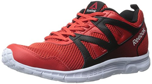 Reebok Run Supreme 2.0 Femmes Synthétique Chaussure de Course Motor Red-Black-White