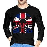 Photo de T-Shirts à Manches Longues, Homme, Hauts, Chemises Casual, T-Shirts et Tops de Sport, Jake Bugg Mens Long Sleeve T-Shirt Black par BYYKK