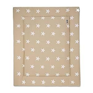 BABY'S ONLY - Tapis de parc Star beige-blanc