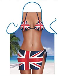 Novelty Aprons, (Union Jack Sarong)