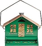 Perky-Pet 339 Mangiatoia Casa con Comignolo, Anti-Scoiattolo