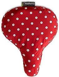 Basil Rosa Saddle Cover - Fundas de sillín para mujer, color rojo