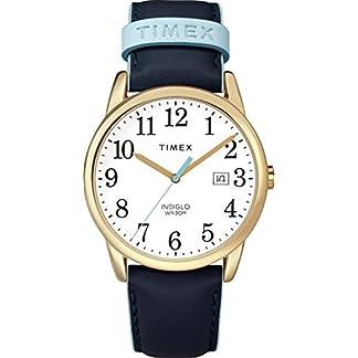 Timex Reloj Analógico para Unisex Adultos de Automático con Correa en Cuero TW2R62600