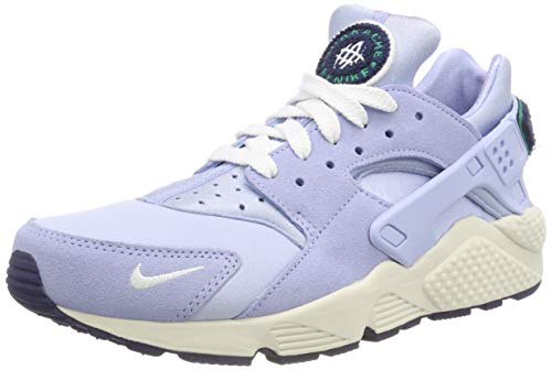 Nike Nike Air Huarache Run Prm, Scarpe Running Uomo, Multicolore (Royal Tint/Sail/Blue Void/Neptune Green), 42.5 EU