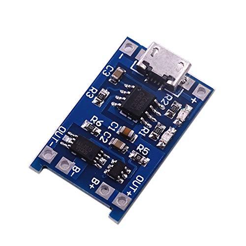 10 STÜCKE Micro USB 5 V 1A 18650 TP4056 Lithium-Batterie Ladegerät Modul Ladeplatine Mit Schutz Dual Funktionen 1A Li-Ion