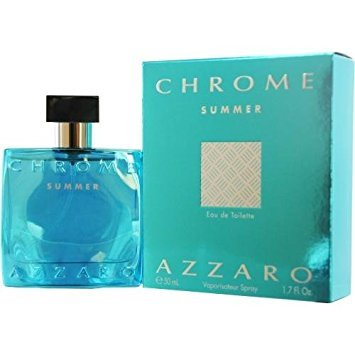 Azzaro Chrome Summer Eau de Toilette Spray for Him 50 ml