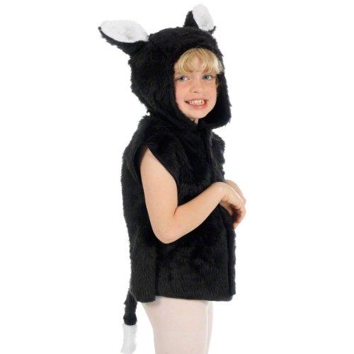 Unbekannt Charlie Crow Katzenkostüm Kostüm für Kinder. 3-8 Jahre. (Kinder-kostüm Kater Gestiefelte Der)