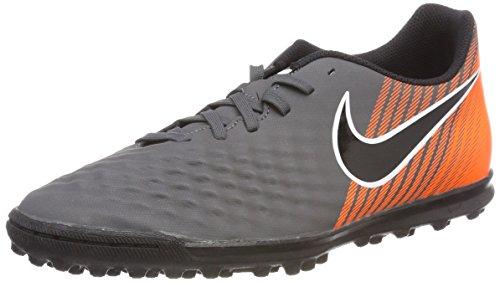 Nike Herren ObraX 2 Club TF Fußballschuhe, Grau (Dark Grey/Black-Total Orange-White 080), 42 EU