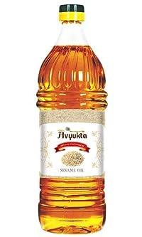 Avyukta Sesame Oil(White Sesame), 1Ltr