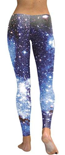 Belsen Damen Leggings schwarz schwarz X-Large Blue blinks