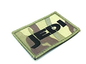 Jedi Multicam Star Wars Airsoft Paintball Velcro Patch