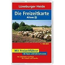 Die Allianz Freizeitkarte Lüneburger Heide 1:100 000