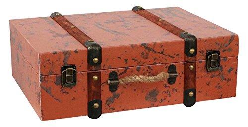 Maleta Caso Madera Estilo Antiguo arcón decoración