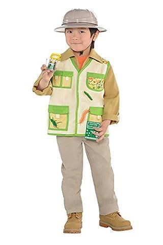Explorer Kit Kids Fancy Dress Safari Jungle Zoo Keeper Boys Girls Childs Costume