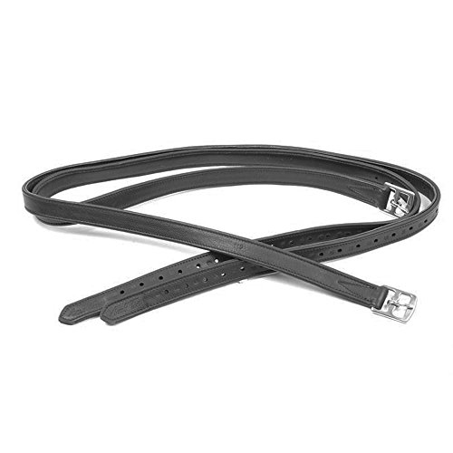 Mark Todd Bonded Stirrup Leathers 145cm Black -