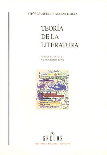 Teoria literatura (VARIOS GREDOS)