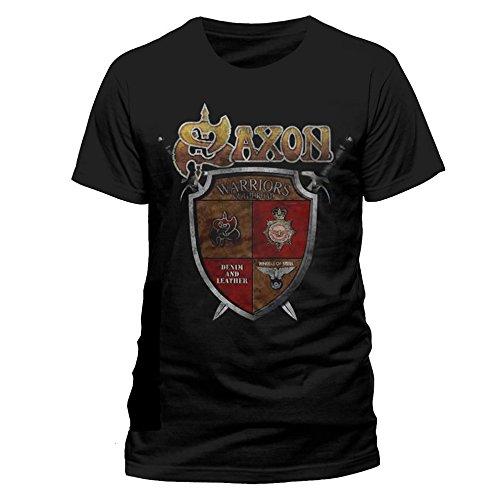 Saxon Warriors Of The Road T-Shirt schwarz M