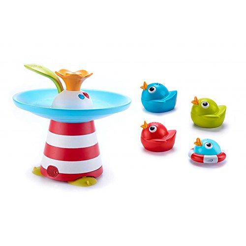 Yookidoo 40138 - Wasserspiel Entenrennen mit Musik