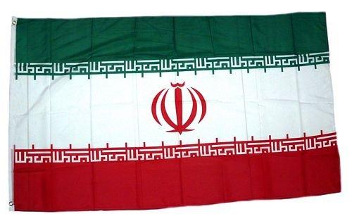 FahnenMax Drapeau de l'Iran 150 x 250 cm