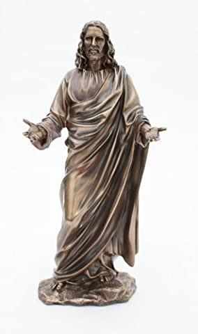 The Lord Jesus Christ - Bronze Figurine by Veronese - Catholic or Church of England Religious Gift Idea by Religious Gifts