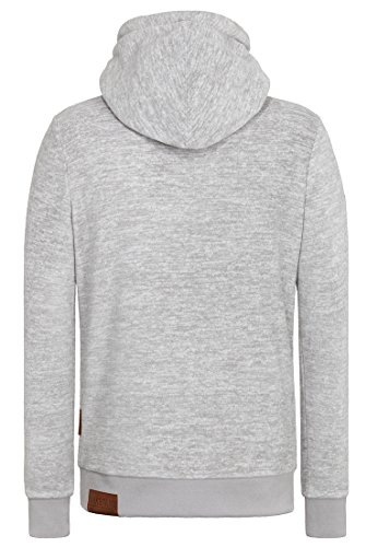 Naketano Male Hoody Was Marxloh V Grey Melange