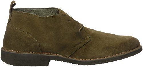 El Naturalista Herren Ng23 Lux Suede Kaki/Yugen Mokassin Boots Grün (Kaki)