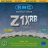 KMC Fahrradkette Z1X RB Kette Antirostbeschichtung für Nabenschaltung