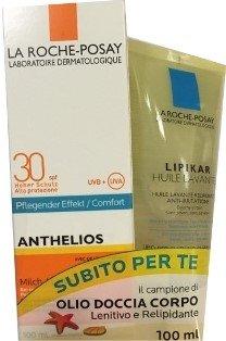 La Roche Posay Anthelios Latte SPF30 + Lipikar Huile Lavante Promo